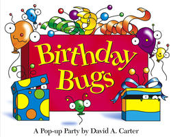 Insects popping out of a book clipart graphic black and white download Birthday Bugs | Book by David A. Carter | Official Publisher ... graphic black and white download
