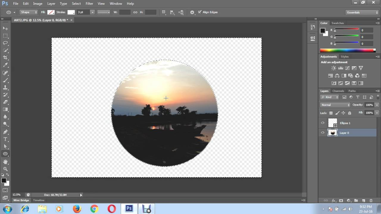 Insert clipart to phtotograph in photoshop transparent stock How to put a picture in a circle shape using Photoshop transparent stock