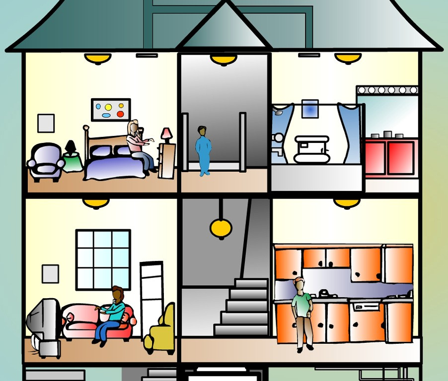Inside clipart png free download Clipart inside house - ClipartFest png free download