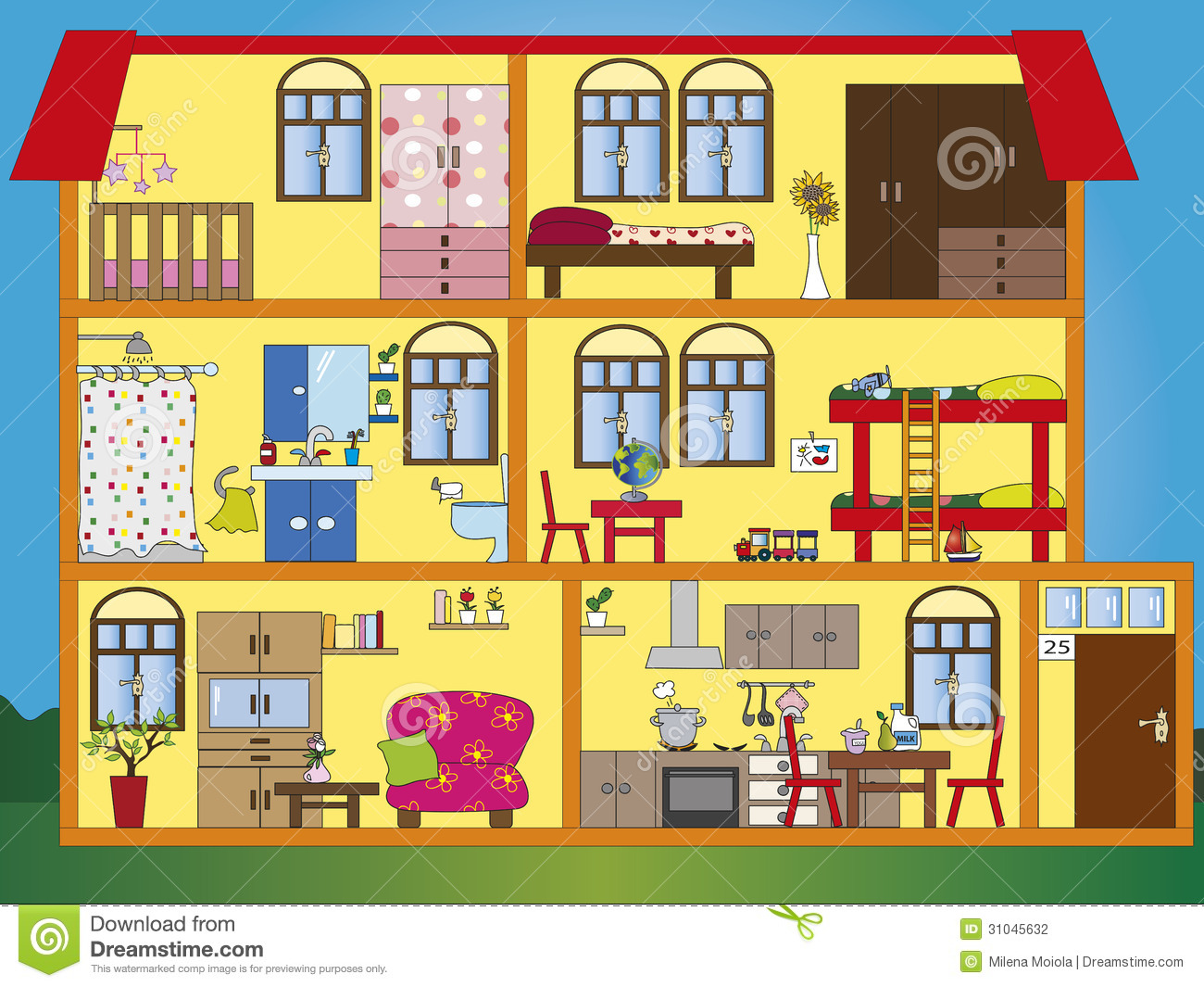 Inside clipart clip royalty free download Inside House Clipart - Clipart Kid clip royalty free download