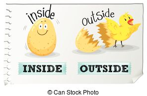 Inside clipart picture stock Inside outside Vector Clipart EPS Images. 629 Inside outside clip ... picture stock