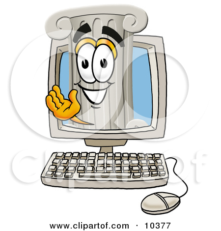 Inside computer looking out clipart jpg library download Royalty-Free (RF) Desktop Computer Clipart, Illustrations, Vector ... jpg library download