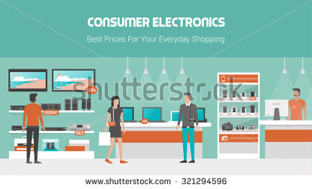 Inside electronics store outline clipart graphic freeuse download Electronics Stock Images, Royalty-Free Images & Vectors | Shutterstock graphic freeuse download