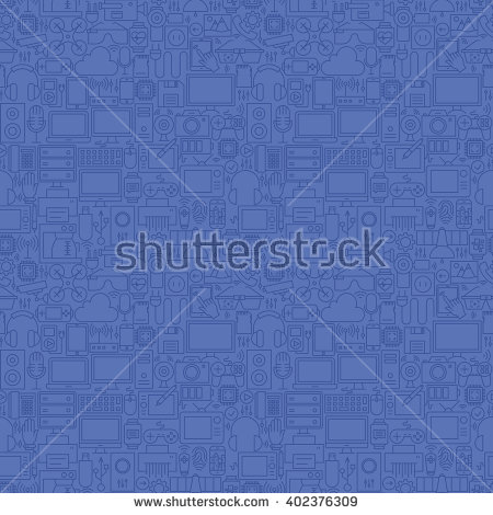 Inside electronics store outline clipart black and white Gadget Background Stock Images, Royalty-Free Images & Vectors ... black and white