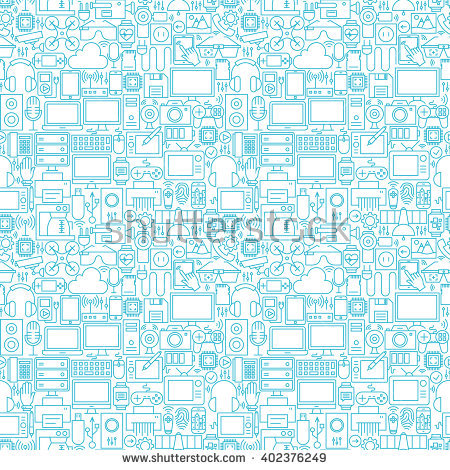 Inside electronics store outline clipart jpg royalty free library Gadget Background Stock Images, Royalty-Free Images & Vectors ... jpg royalty free library