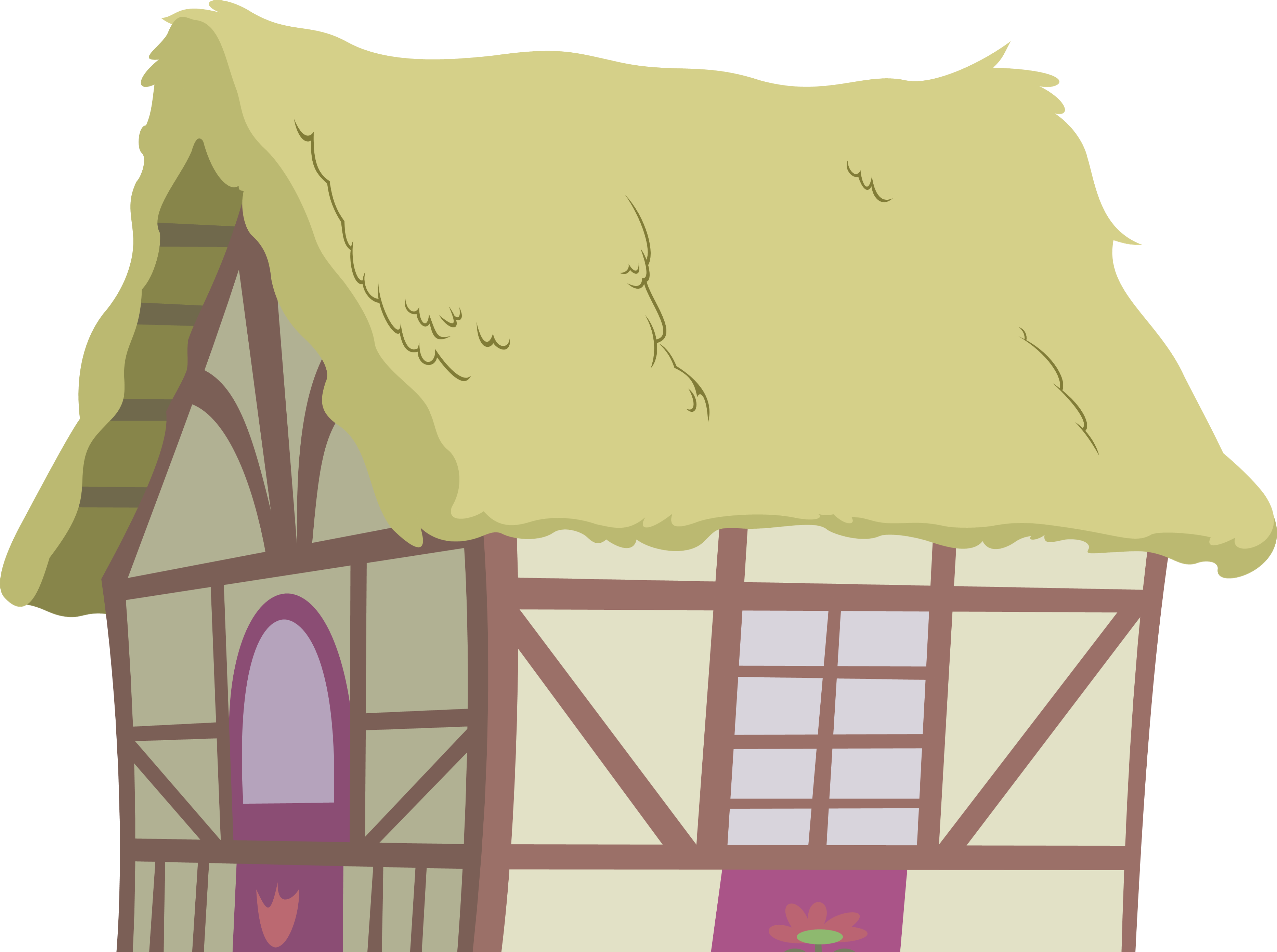 Inside house background clipart clip free Ponyville House 2 by Zacatron94 on DeviantArt clip free