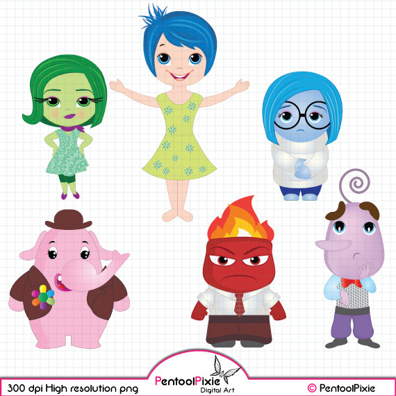 Inside out characters clipart stock 17 Best images about Inside out on Pinterest   Disney, Disney ... stock