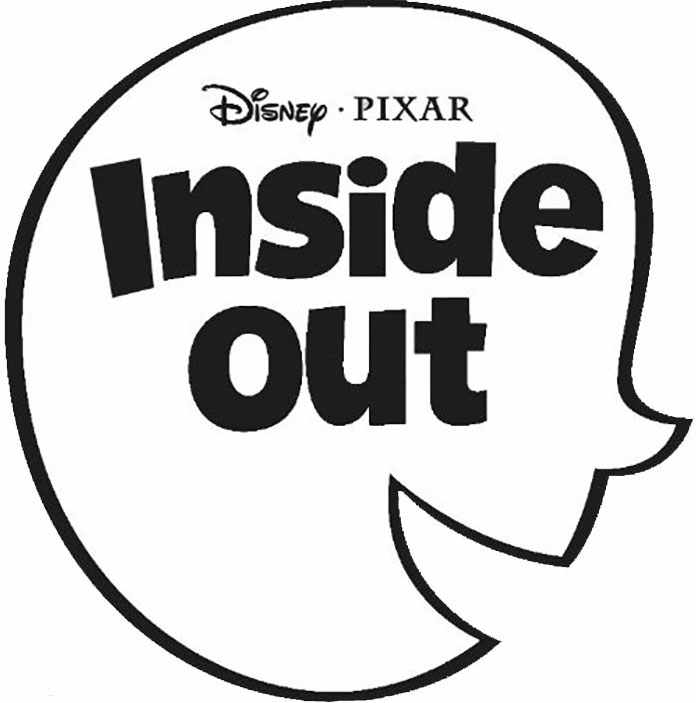 Inside out clip art black and white black and white download Disney/Pixar's Inside Out Movie Joy Inspired Cupcakes black and white download