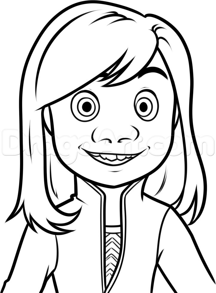 Inside out clipart black and white image library library 17 Best images about coloring pages on Pinterest image library library