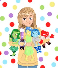 Inside out clipart riley image Riley and Joy | Intensamente | Pinterest | Art, Inside out and ... image