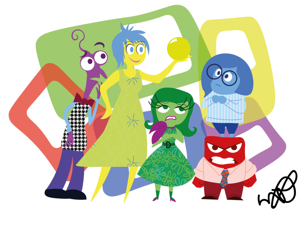 Inside out movie clip art freeuse library Movie Review: Inside Out | Switched onto learning freeuse library