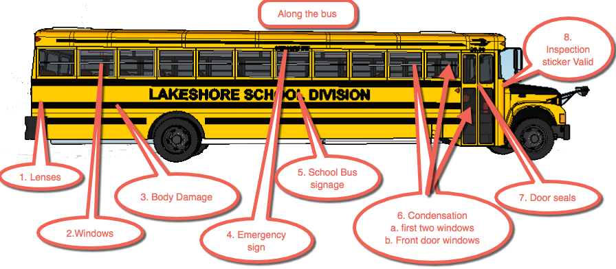 Inside school bus clipart banner free library PreTrip banner free library