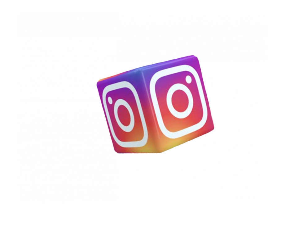 Instagram 3d logo clipart graphic library stock 3d Cube Png Transparent Background - Instagram Png For Editing Free ... graphic library stock