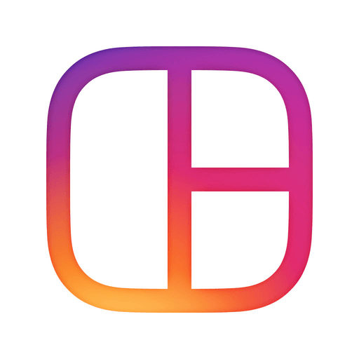 Instagram app icon clipart clipart freeuse stock Layout from Instagram | iOS Icon Gallery clipart freeuse stock