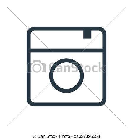 Instagram camera clip art graphic Clipart of instagram icon - ClipartFest graphic