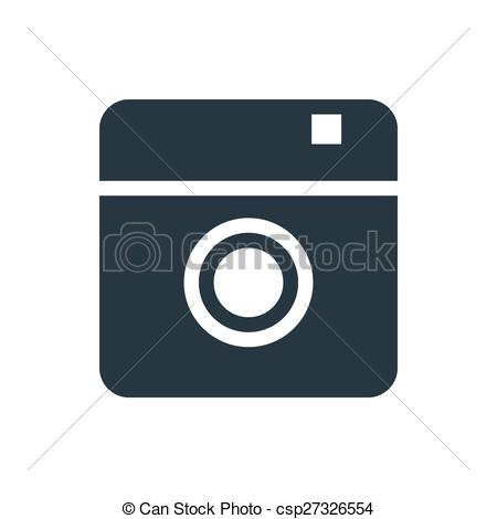 Instagram camera clip art jpg transparent stock Clipart Vector of icon instagram 2 - photo or camera icon ... jpg transparent stock