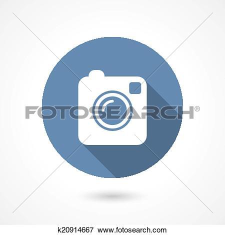 Instagram camera clip art vector freeuse stock Clip Art of Instagram camera icon k20914667 - Search Clipart ... vector freeuse stock