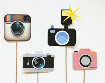 Instagram camera clipart svg black and white Instagram Clipart - Clipart Kid svg black and white