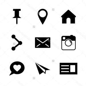 Instagram clipart black picture Excellent Jpgipng Instagram Logo Black Vector Picture | VectoRealy picture
