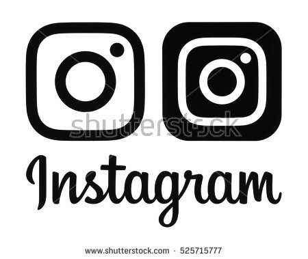 Instagram clipart black banner black and white Instagram Stock Images, Royalty-Free Images & Vectors | Shutterstock banner black and white