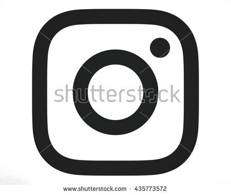 Instagram clipart black and white banner library Instagram New Logo Stock Images, Royalty-Free Images & Vectors ... banner library