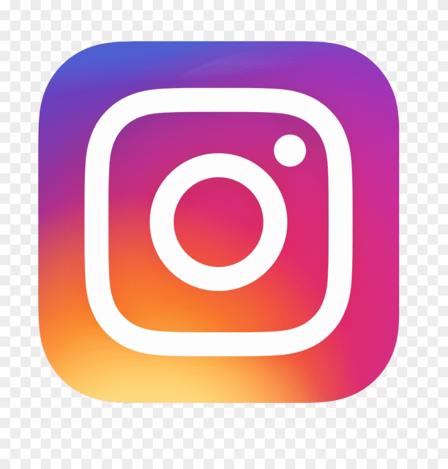 Instagram clipart icon clip freeuse Follow Us On These Social Media Links - Instagram Icon Clipart ... clip freeuse