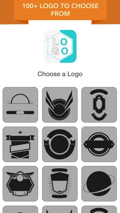 Instagram clipart maker graphic black and white library Logo Maker - Logo Creator Logos Maker and Badge Maker Design for ... graphic black and white library