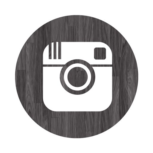 Instagram clipart png graphic library library instagram black 512 png | Black wood instagram 4 icon - Free black ... graphic library library