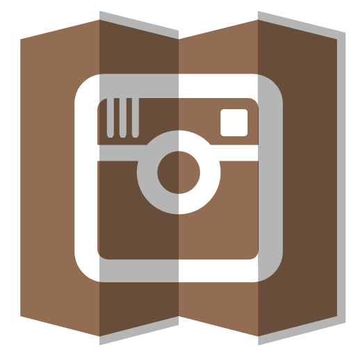 Instagram clipart size clip royalty free stock Folded Paper Instagram Icon, PNG ClipArt Image | IconBug.com clip royalty free stock