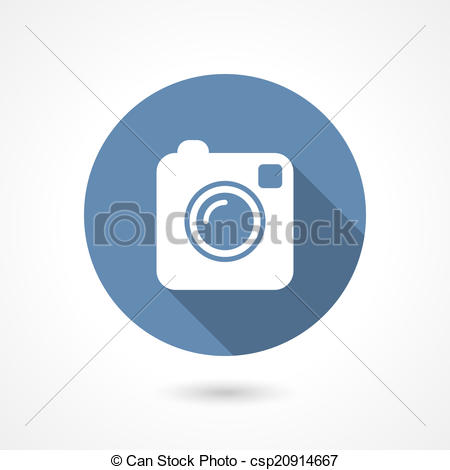 Instagram clipart vector png stock Clip Art Vector of Instagram camera icon - Hipster photo or camera ... png stock