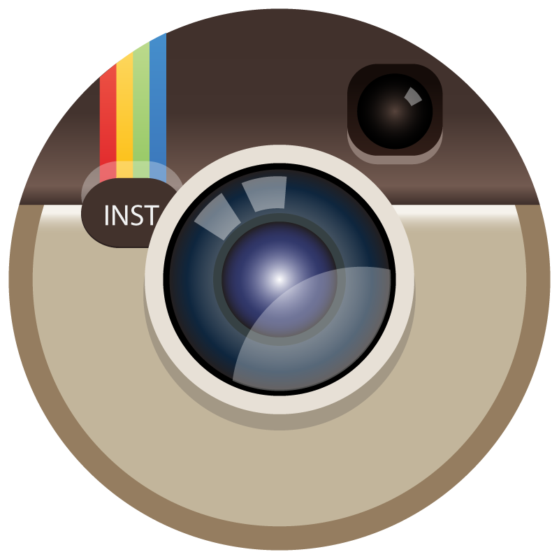 Instagram icon clipart jpg black and white library Instagram logos PNG images free download jpg black and white library