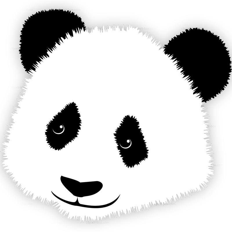 Instagram icon clipart panda clip transparent Panda clipart face - ClipartFest clip transparent