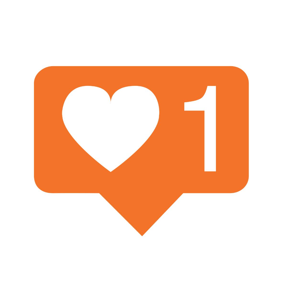 Instagram like clipart banner transparent Buy Instagram Likes (1,000) – Full Circle Marketing banner transparent