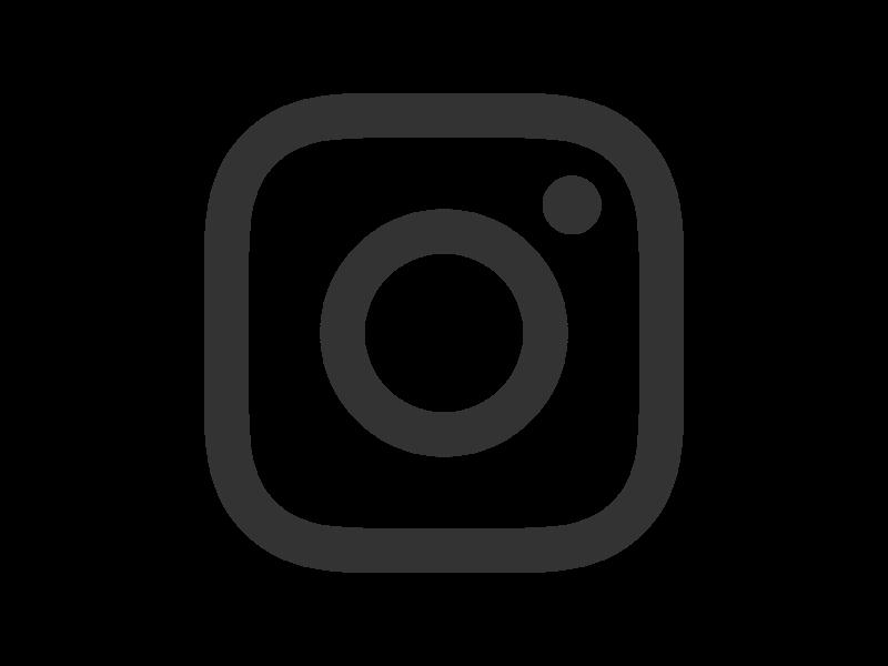 Instagram logo clipart free svg black and white stock Bean Instagram WordPress Plugin | ThemeBeans svg black and white stock