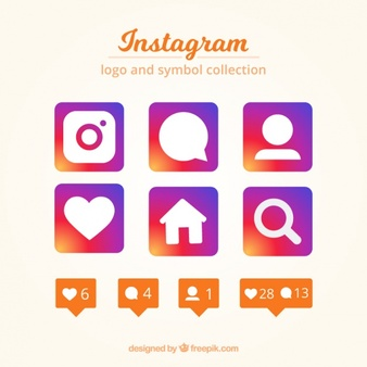 Instagram logo clipart free for ocommercial use banner transparent stock Instagram Vectors, Photos and PSD files | Free Download banner transparent stock