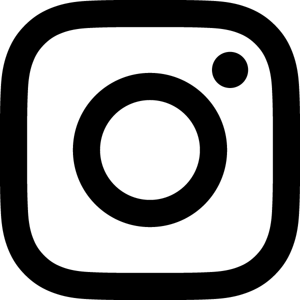 Logo instagram vector clipart banner black and white Instagram Logo | | Vector Images Icon Sign And Symbols banner black and white
