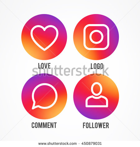 Instagram new icon clipart graphic black and white Instagram new icon clipart - ClipartFest graphic black and white