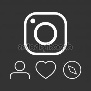 Instagram new icon clipart clip art freeuse Exclusive Instagram New Icon Clipart Layout | VectoRealy clip art freeuse