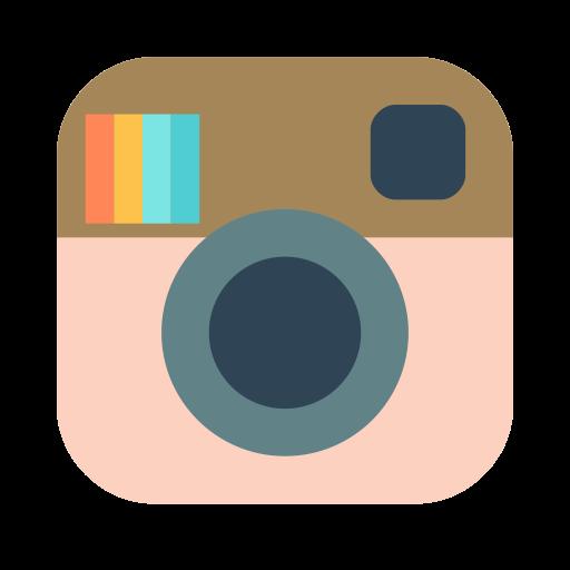 Instagram social media clipart clip art royalty free library Instagram,social,media,camera,photo Icon Free of Brands Flat clip art royalty free library