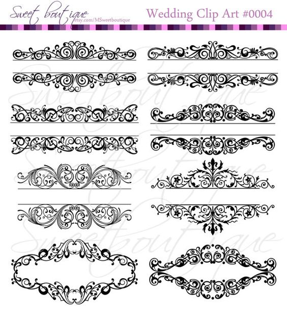 Instagram wedding clipart svg freeuse library Digital Borders, Frames clipart, Wedding Bridal clipart, Shower ... svg freeuse library