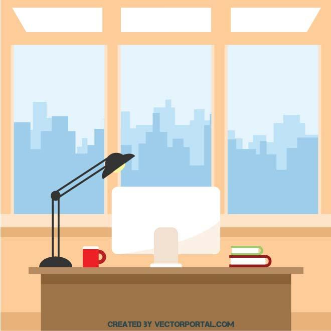 Interior clipart svg transparent OFFICE INTERIOR CLIP ART - Free vector image in AI and EPS format. svg transparent