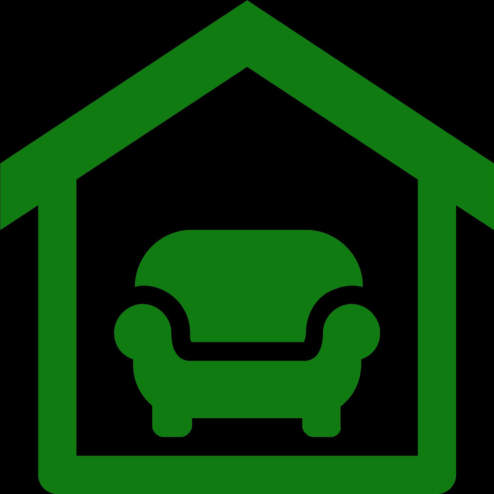 Interior design icon clipart