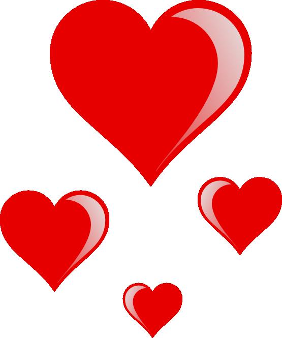 Interlocking heart clipart image library library clipartist.net » Clip Art » heart cluster sheet page SVG image library library