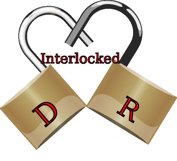 Interlocking heart clipart graphic freeuse Interlocked Clip Art at Clker.com - vector clip art online, royalty ... graphic freeuse