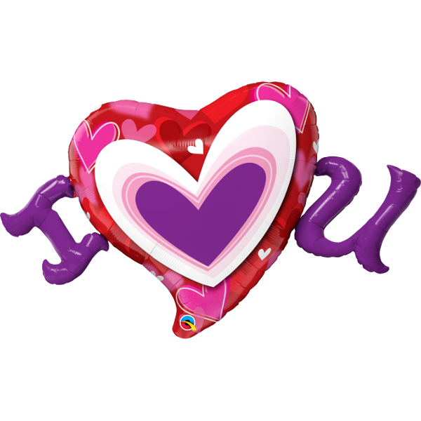 Interlocking heart clipart jpg royalty free Valentines Balloons Party Supplies Canada - Open A Party jpg royalty free
