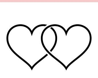 Interlocking hearts clipart picture free library Image result for interlocking hearts clipart | graphgahns-charts ... picture free library