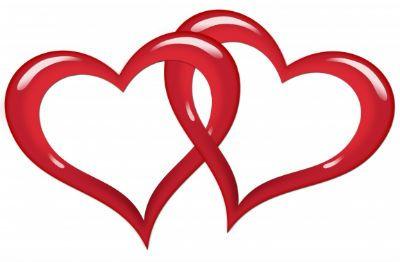 Interlocking hearts clipart vector stock Silver Interlocking Hearts Clipart - Free Clip Art Images | WEDDING ... vector stock