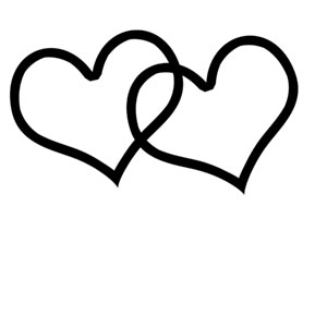 Interlocking hearts clipart png black and white stock Free Interlocking Heart Cliparts, Download Free Clip Art, Free Clip ... png black and white stock