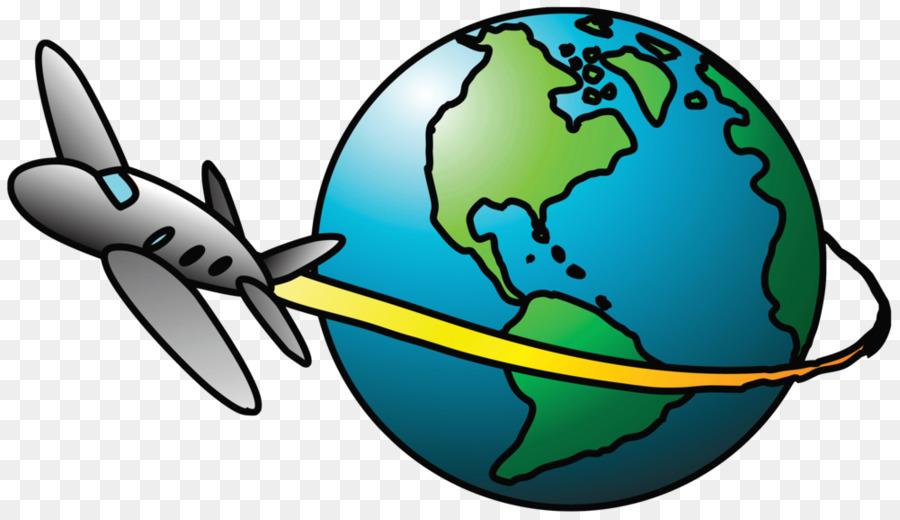 International flight clipart vector free stock Travel Earth clipart - Travel, Technology, Globe, transparent clip art vector free stock
