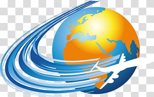 International flight clipart